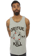 Men&#39;s The Hard To Kill Tank in Gray, Tank Tops