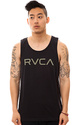 Men&#39;s The Big RVCA Tank in Navy, Tank Tops