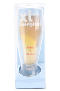 Unisex's The XL Beer Glass (52 fl. Oz.), Houseware