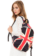 Women's The Distressed UK Canvas Backpack, Bags (H