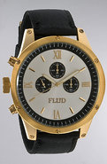 Men&#39;s The Order Watch in Gold, White, &amp; Black, Wat