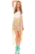 Women's The Get It Skirt in Sunset, Skirts