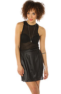 Women's The Quinn Wrap Skirt in Black, Skirts
