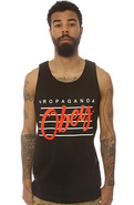 Men's The Nine Nickel Tank in Black, Tank Tops