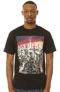 Men's The All Day Nitelife Tee in Black, T-shirts