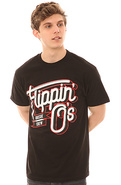 Men's The Flipping O's Tee in Black, T-shirts