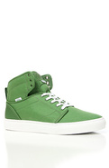 Men&#39;s The Alomar Sneaker in Green &amp; White, Sneaker