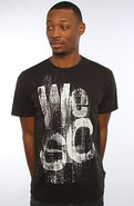 Men's The Cardboard Tee in Black, T-shirts