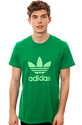 Men's The Adi Trefoil Tee in Fairway & Green Zest,