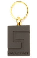 Men's The Thuxury Rubber Keychain in Black, Access