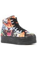 Women's The HIYA Sneaker in Tiger Print, Sneakers