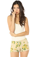 Women's The Lola Sweatshorts in Cream, Shorts