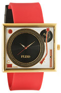 Unisex&#39;s The Table Turns Watch in Red &amp; Gold, Watc