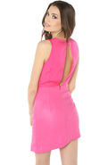 Women's The Into the Flame Dress in Pink, Dresses