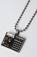 Unisex&#39;s The BPM Necklace in Gun, Jewelry