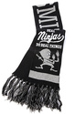 Men's The Ninjas Scarf in Black, Scarves