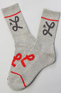 Men's The One Stripe Crew Socks in Ash Heather, So