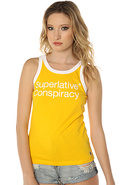 Women's The SC Classic Tank in Gold Fusion, Tops (