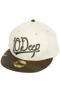 Men&#39;s The Delta House New Era Hat in White, Hats