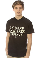 Men&#39;s The Ex&#39;ed Out Tee in Black, T-shirts
