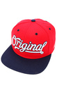 Men's The Original 3 Snapback in Red, Hats
