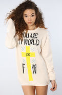 Women's The You Are My World Sweater, Sweatshirts