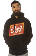 Men's The Malt Liquor Pullover Hoodie in Black, Sw