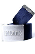 Men's The Logo Belt in Royal & Gun, Belts