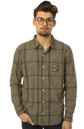 Men's The Luciano Buttondown in Khaki, Buttondown