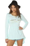 Women's The Joyrich New York Dress in Aqua Blue, D