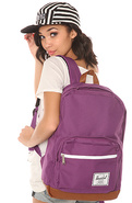 Women's The Pop Quiz Backpack in Purple, Bags (Han
