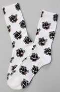 Men&#39;s The Jack Socks in Bleach White, Socks