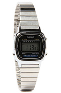Women's The Small Digital Watch in Silver, Watches