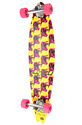 Unisex&#39;s Warhol Cow Long Board, Skate