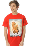 Men&#39;s The Make It Clap Tee in Red, T-shirts