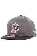 Men's The College P Snapback in Charcoal, Hats
