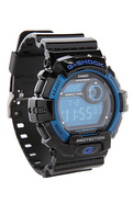 Men's The X-Large 8900 Watch in Black & Blue, Watc