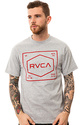 Men&#39;s The RVCA Plate Tee in Athletic, T-shirts