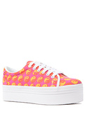 Women's The Zomg Sneaker in Fuchsia Ying Yang, Sne