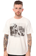 Men&#39;s The All Choked Up Tee in White, T-shirts