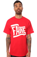 Men's The Wavy Tee in Red, T-shirts