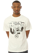 Men's The Turnt Tee in White, T-shirts