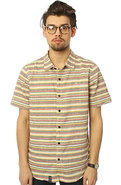 Men's The Strength In Roots Buttondown in Gold, Bu