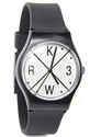 Men&#39;s The Freshman X Watch in Black &amp; White, Watch