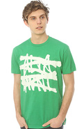 Men&#39;s The No Logo Tee in Green Heather, T-shirts