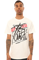 Men's The Reckless Youth Tee in White, T-shirts