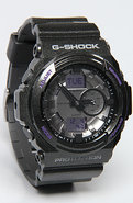 Men's The GA 150 Watch in Black, Silver, & Purple,