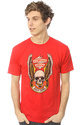 Men's The Control Tee in Red, T-shirts