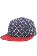 Men's The Chain Link Camper Cap in Navy, Hats