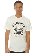 Men's The El Matix Tee in White, T-shirts